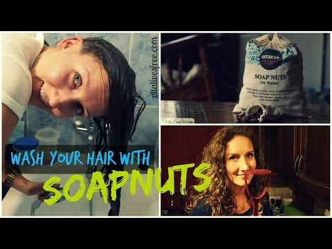 How To Wash Your Hair Without Shampoo Using Soapnuts (No-Poo Variation) | VitaLivesFree