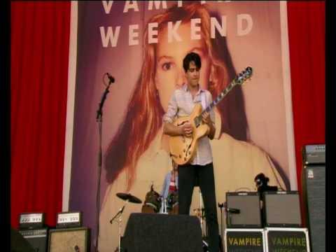 Vampire Weekend perform Holiday at Glastonbury 2010