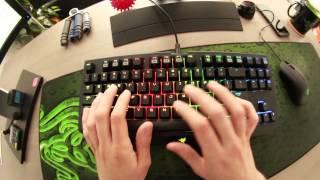 The Razer BlackWidow Tournament Edition Chroma