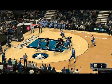 NBA 2K14 For PC - Timberwolves Alternate Jersey Bug