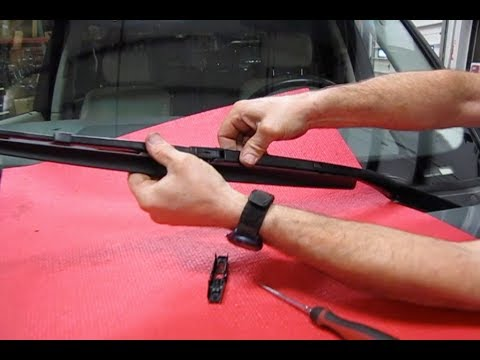 Atlantic British Presents: Change Wiper Blades on Range Rover Full Size L322