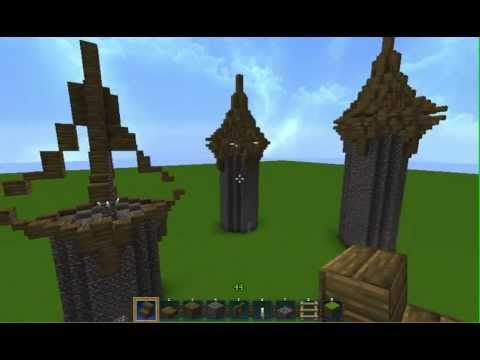 Minecraft - Medieval Tower Roof Tips/Guidelines!