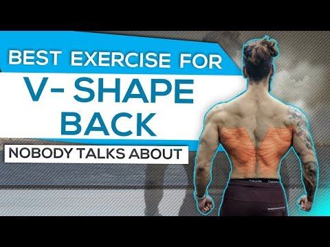 How To Get WIDE LATS and V-Taper Body (Best Exercise No One Talks About)