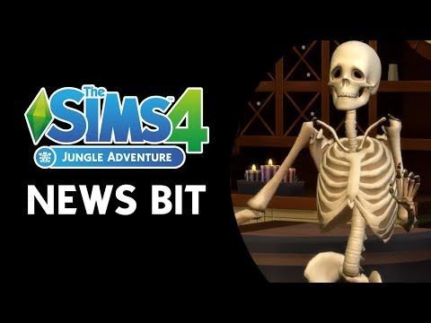 The Sims 4 Jungle Adventure News Bit: Skills, World Info, Collections & more! (NEW INFO)