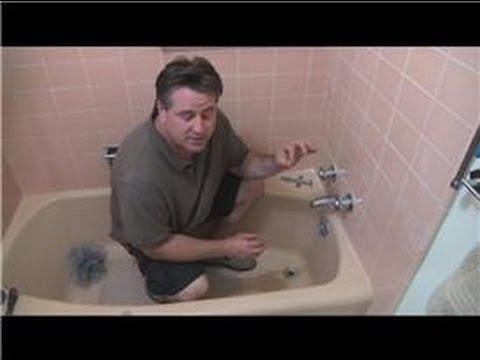 Bathroom Fix-It Tips : How to Repair a Leaking Bathtub