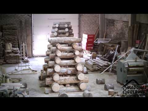 Big Bonfire Build  - Time Lapse