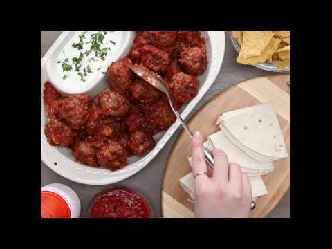 Cheese Stuffed Slow Cooker Jalapeño Meatballs | We  Promise Great Taste