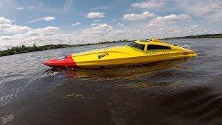 Скоростной катер Volantexrc Vector Pro ... 4s и затопляемая камера
