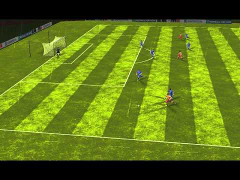 FIFA 14 Android - Getafe CF VS Messi FCB