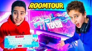 ROOMTOUR 🔍 Unser Equipment für YouTube Videos 🎥 [ PC EQUIPMENT ] | CRASHBROS2
