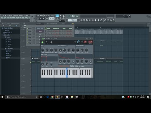 Making Screeches with all FL Studio Synths [Part 2] (Fruity DX10)