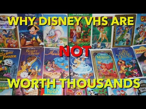 Why Disney VHS Tapes are NOT Worth Thousands!