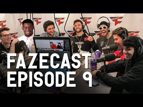 FaZeCast #9 feat. JuJu-Smith Schuster & Nelk LIVE!