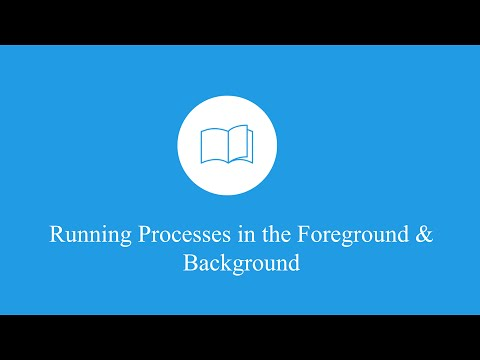 Linux Tutorial | Running Processes in the Foreground & Background