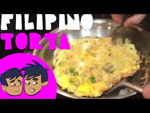 How to Make Filipino Torta Video (Budding Foodies)
