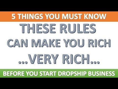DROPSHIP MODEL  5 THINGS YOU MUST KNOW BEFORE STARTING THIS BUSINESS