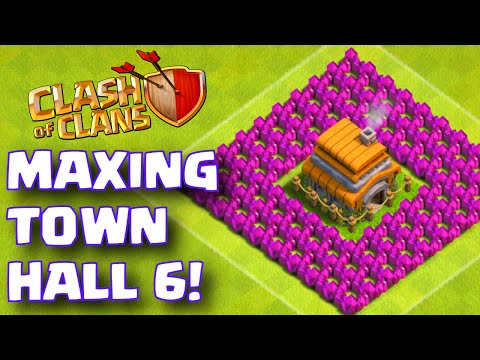 Clash of Clans TOWN HALL 6 MAXED OUT BASE | Max TH 6 Attack and Defense Strategy