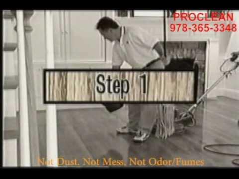 SANDLESS HARDWOOD FLOOR REFINISHING, HOW TO REFINISH A HARDWOOD FLOOR