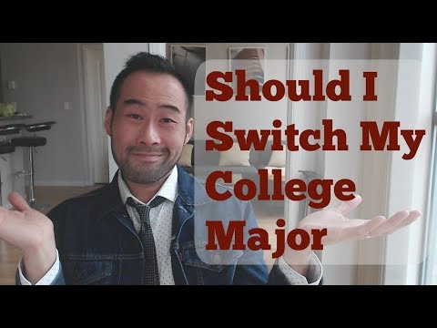 Should I Switch My College Major? (Sciences, PA School)