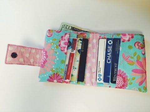 DIY: Bi-fold Wallet Tutorial