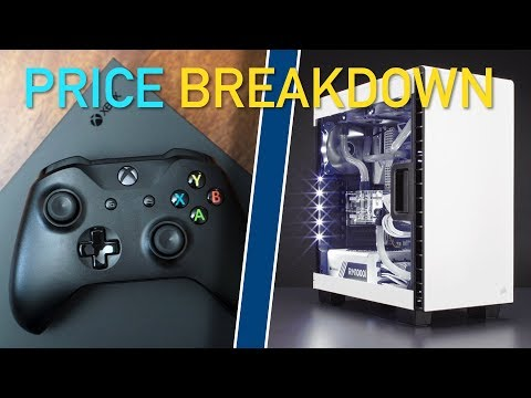 What's Less Expensive? Game Console Vs Gaming PC Breakdown