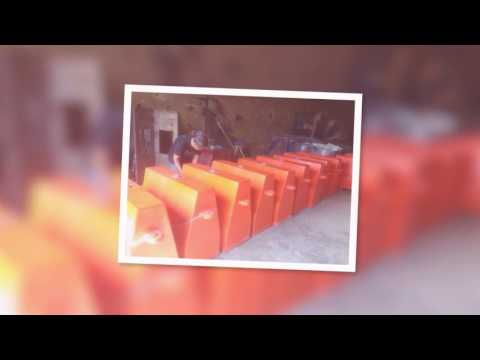 Produsen Separator Jalan - Fiberglass Road Barries - Traffic Cone