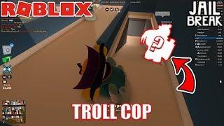 Best Bacon Hair Cops In Jailbreak Roblox Jailbreak W Seniac Is Camper Cop Roblox Jailbreak