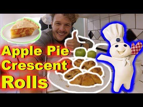 Apple Pie Crescent Rolls! QUICK & EASY! -Jonny DIY