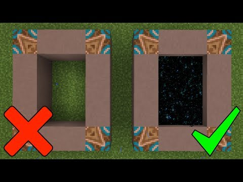 How To Make a Portal to the Notch Dimension in Minecraft Pocket Edition