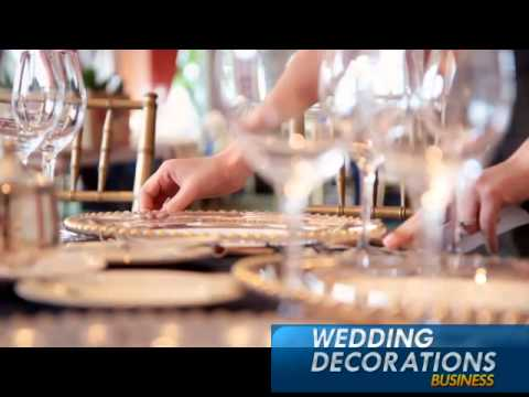 How to Start a Wedding Decorations Business