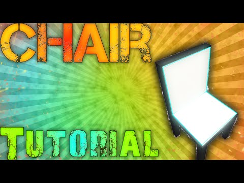 ROBLOX Building Tutorial: Chairs! (Best 2015 Commentary)