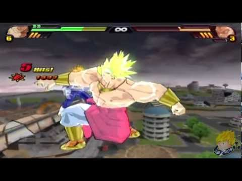 Dragon Ball Z Budokai Tenkaichi 3 - Story Mode Broly Vs Z-Fighters (Part 28) 【HD】