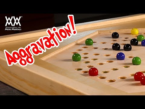 Aggravation Board Game | Woodworking Project