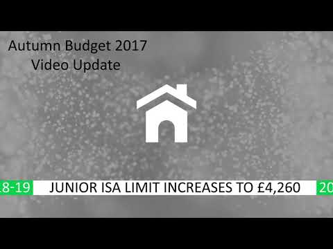 Autumn Budget 2017 Update