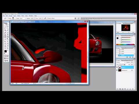 How to Move an object from one picture to another picture on Photoshop CS2/CS3/CS4
