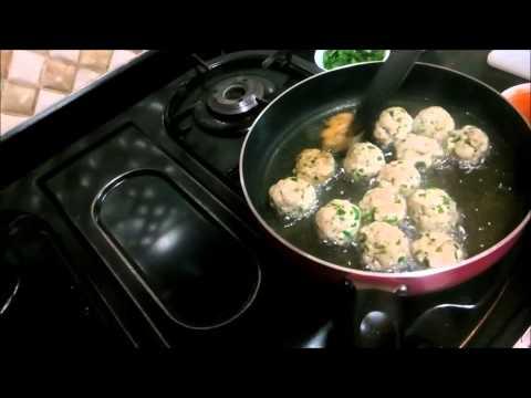 Chicken Balls with Gravy