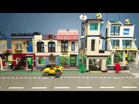 Lego film #5: The Police Station