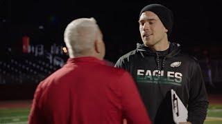 Zach Ertz Surprises High School Coach