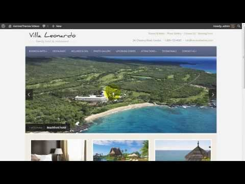 How to: Set up the Homepage Slideshow in a WordPress Theme by HermesThemes