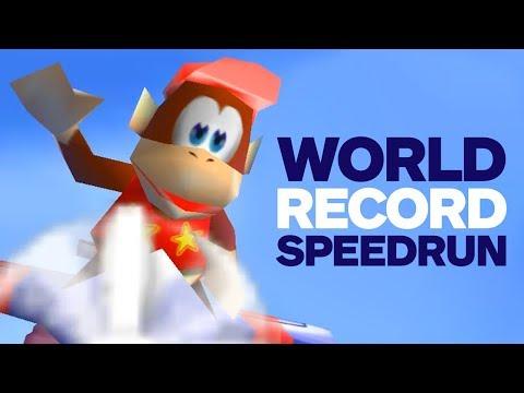 Diddy Kong Racing World Record Speedrun