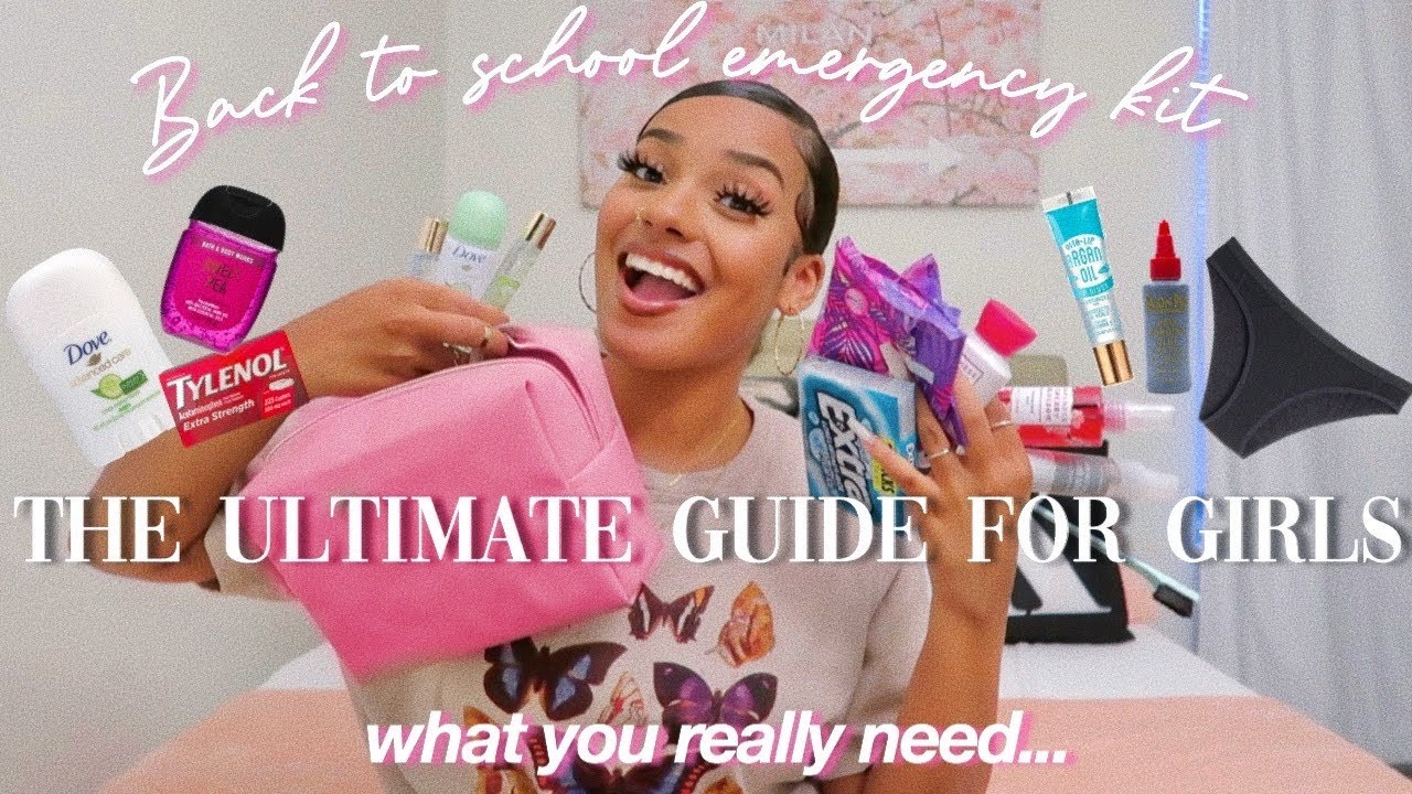 EVERYTHING YOU NEED IN YOUR SCHOOL EMERGENCY KIT *the best guide*