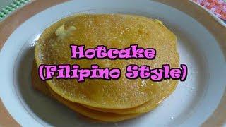 Hotcake Filipino Style