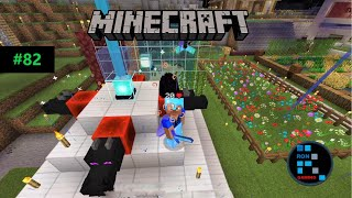 MINECRAFT | BUILDING BEACON & END PORTAL IN OUR VILLAGE