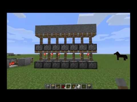 Minecraft Vertical Double Piston Extender 100% tested to work on Xbox and PC