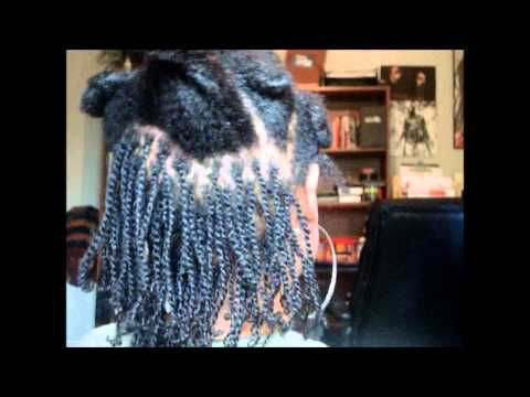 How To Do Two Strand Twists on Short to Medium Length Natural Hair