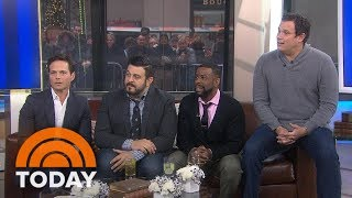 Scott Wolf, Adam Richman, Chuck Nice, Bob Guiney Tell All About The Male Mind   TODAY