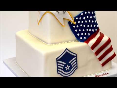 US Army - Air Force Theme cake - Millitary Cake