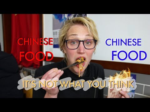 CHINESE FOOD ISN'T WHAT YOU THINK