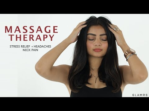 Massage To Relieve Stress, Headache And Neck Pain