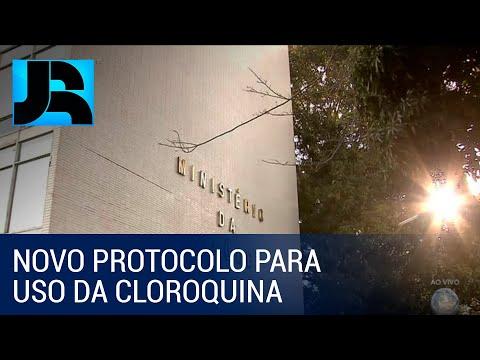 Ministério da Saúde vai ampliar adoção da cloroquina para uso de pacientes iniciais da covid-19